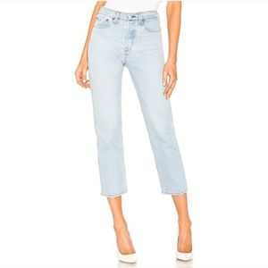 Levi's Wedgie Fit High Rise Straight Jeans